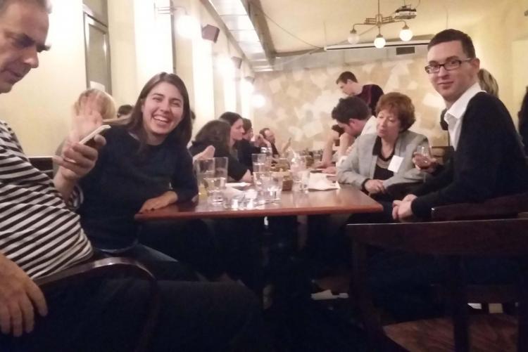 Danielle Archibugi, Bistra Ivanova, Kocsis Györgyi, Uszkiewicz Erik