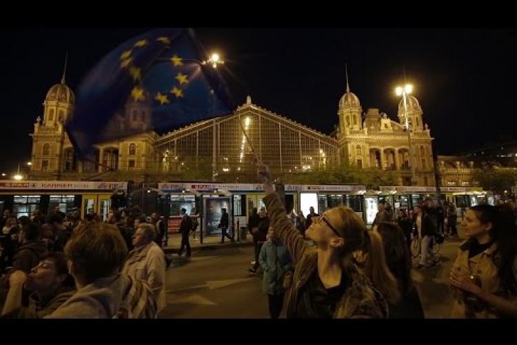 Embedded thumbnail for Civilek vagyunk, szabadok vagyunk, magyarok és európaiak vagyunk